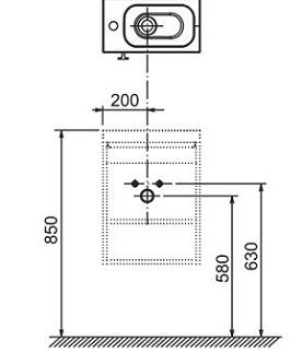 poza Mobilier pentru lavoar SD Chrome 400