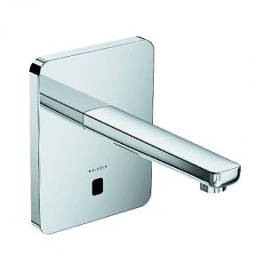 poza Baterie lavoar electronica Zenta de perete cu pipa de 190 mm pentru apa rece